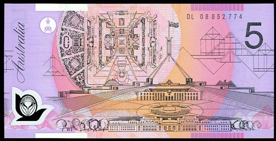 Thumbnail for 2008 $5 DL08 852774 UNC