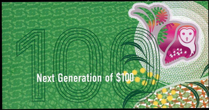 Thumbnail for 2020 Next Generation $100 Uncirculated Banknote Folder