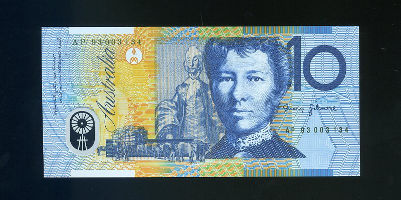 Thumbnail for 1993 AP Serial-Eminent Women Folder Note UNC