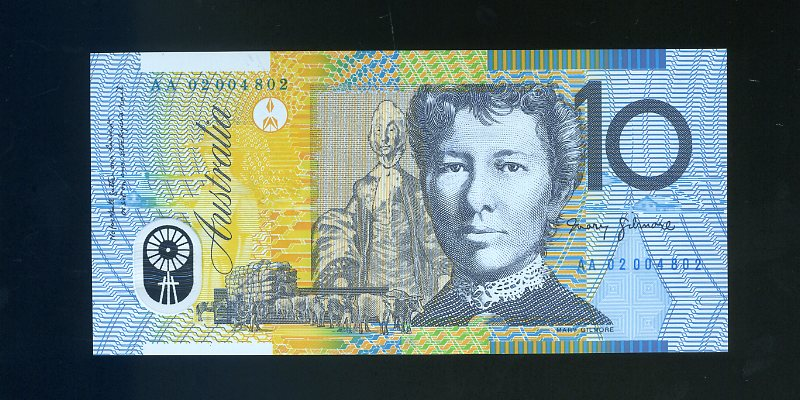 Thumbnail for 2002 First Prefix AA02 004802 - Uncirculated