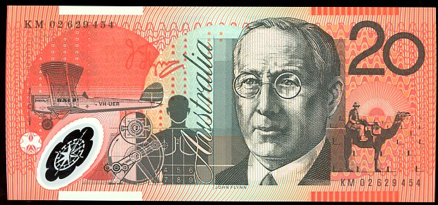 Thumbnail for 2002 $20 Polymer KM02 629454 UNC