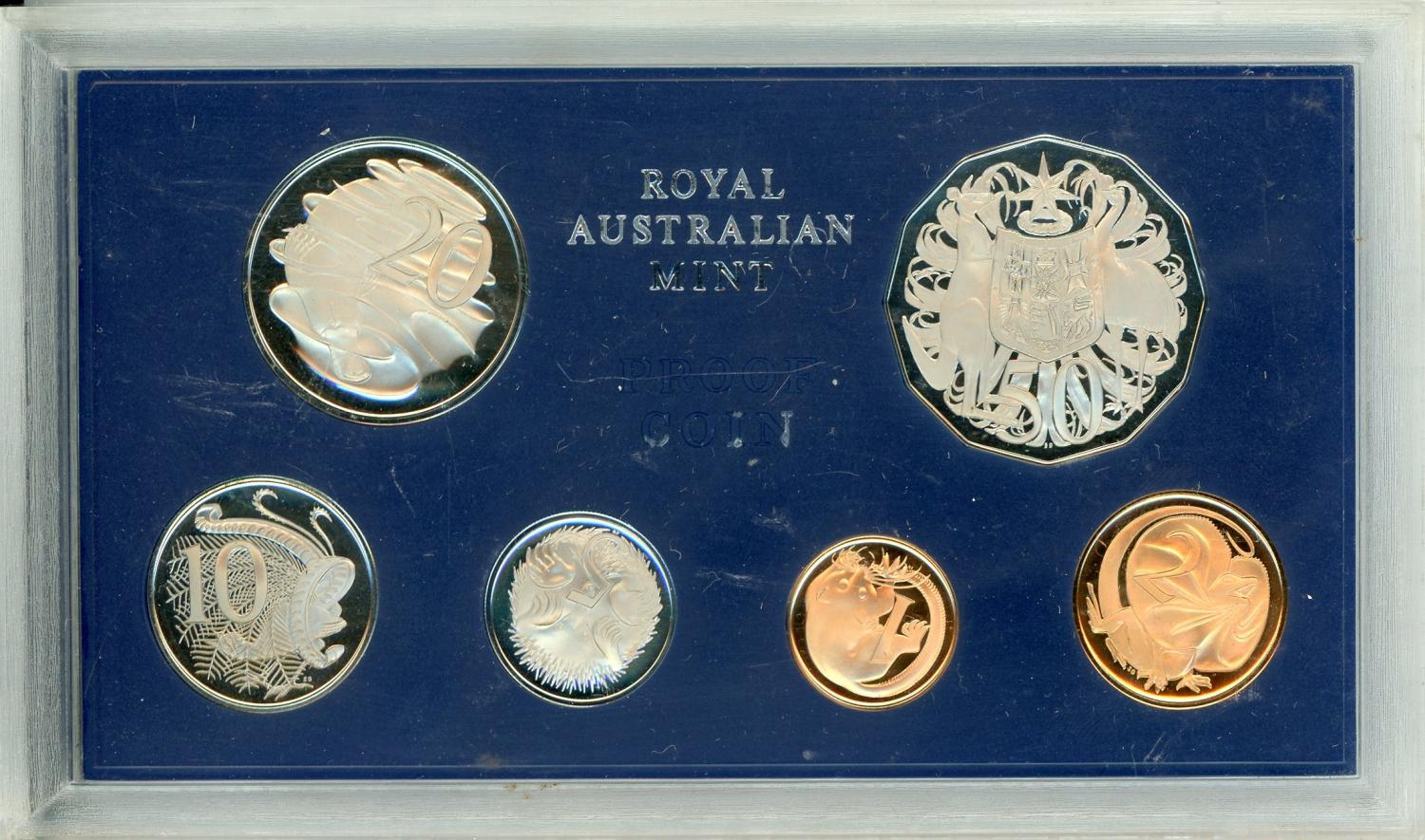 Thumbnail for 1969 Australian Proof Set - Few Coins Are Rotated