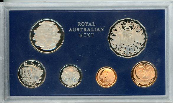 Thumbnail for 1969 Australian Proof Set