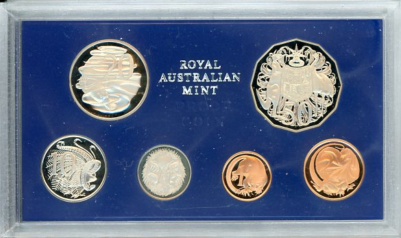 Thumbnail for 1979 Australian Proof Set - Double Bar Variety