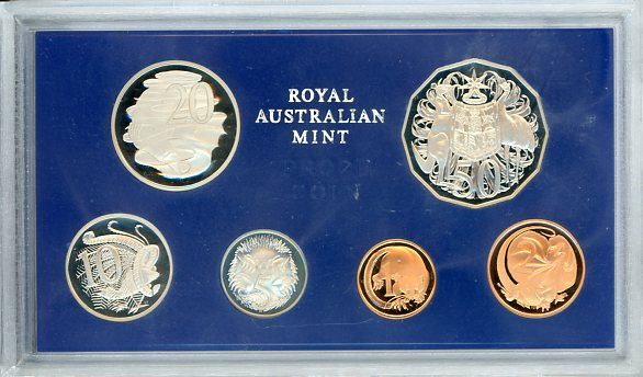 Thumbnail for 1979 Australian Proof Set