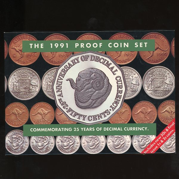 Thumbnail for 1991 Proof Set