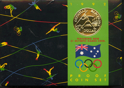 Thumbnail for 1992 Proof Set of Coins