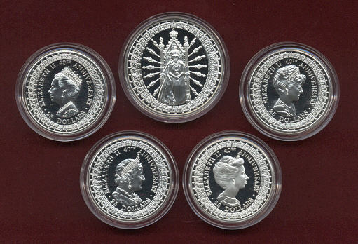Thumbnail for 1992 Masterpieces is Silver Set - Royal Ladies