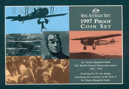 Thumbnail for 1997 Proof Set of Coins