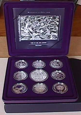 Thumbnail for 1998 Masterpieces In Silver - Coins of the 20th Century Milestones
