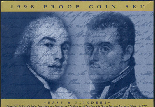 Thumbnail for 1998 Proof Coin Set - Bass & Flinders