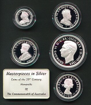 Thumbnail for 2000 Masterpieces in Silver - Coins of the 20th Century Monarchs