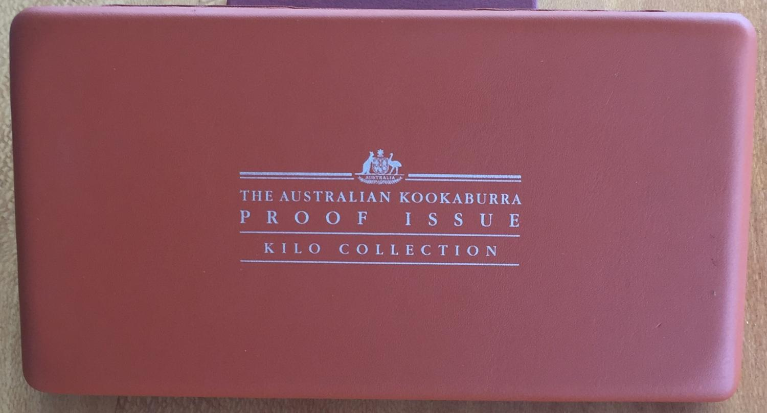 Thumbnail for 2001 Australian Proof Kookaburra Silver Coin Series - Kilo Collection