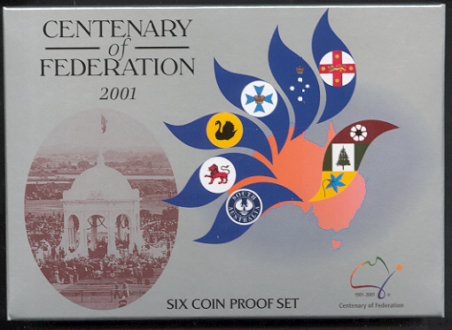 Thumbnail for 2001 Six Coin Proof Set - Centenary of Federation