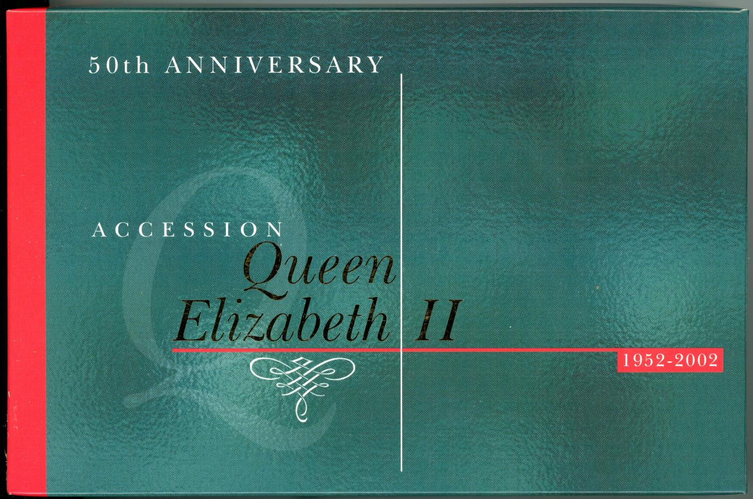 Thumbnail for 2002 50th Anniversary Gold & Silver Proof Set - Accession QEII
