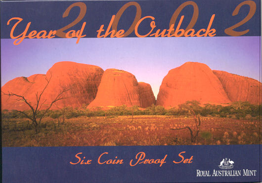 Thumbnail for 2002 Six Coin Proof Set - Year of the Outback