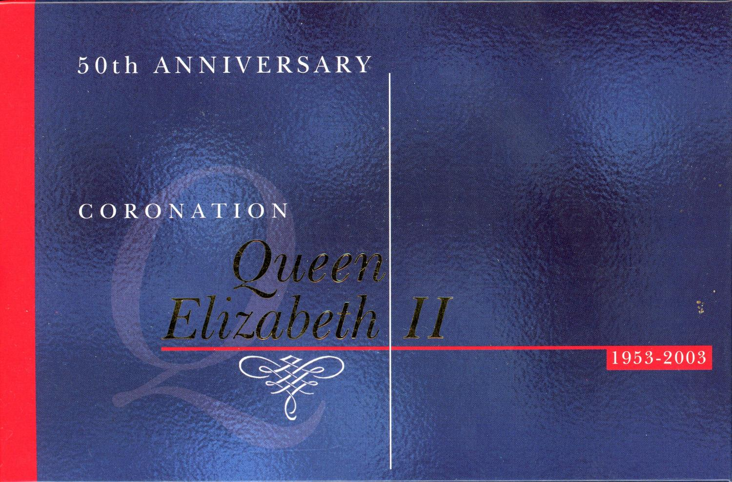 Thumbnail for 2003 50th Anniversary Gold & Silver Proof Set - Coronation QEII