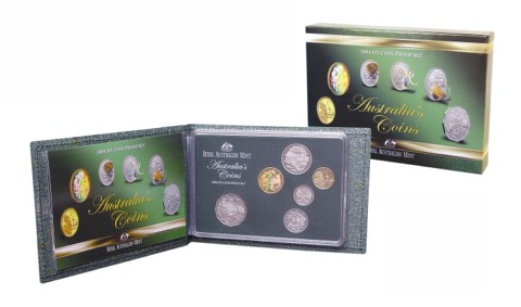 Thumbnail for 2004 Six Coin Proof Set - Australia's Coins
