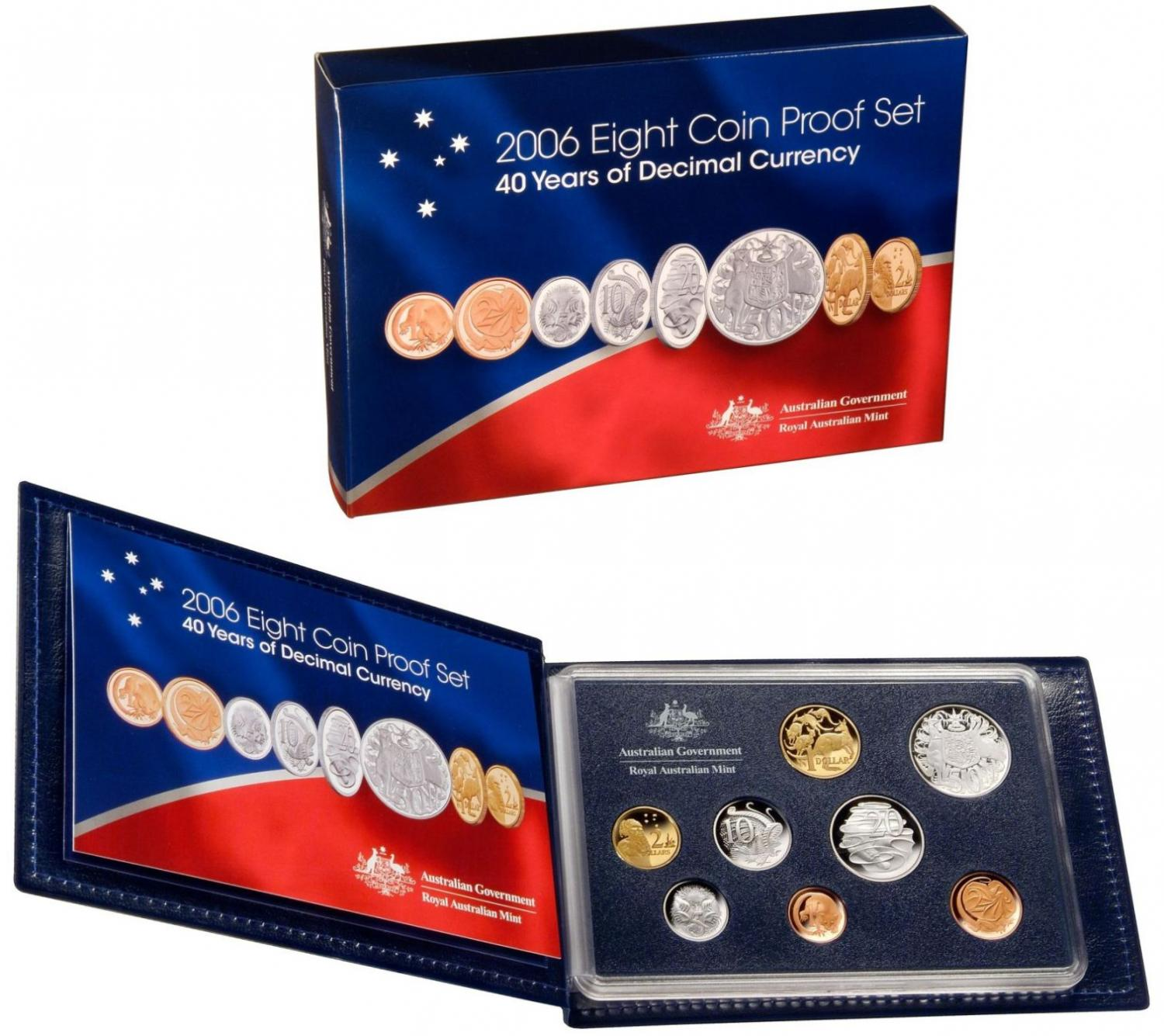 Thumbnail for 2006 Proof Set of Coins