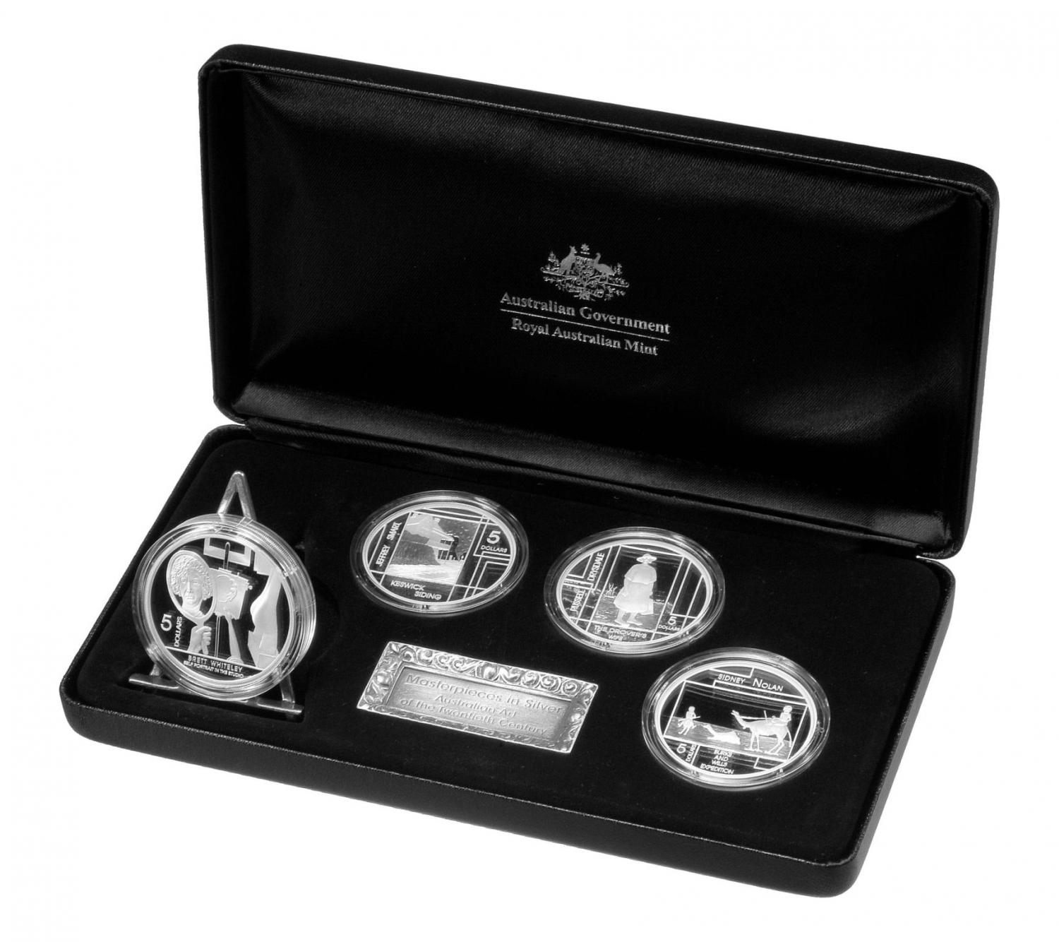 Thumbnail for 2006 Masterpieces in Silver Proof Set Art of the Twentieth Century