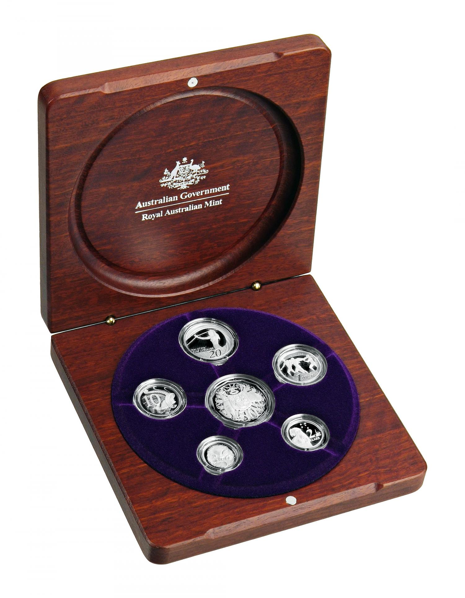 Thumbnail for 2007 Australian Fine Silver Proof Set