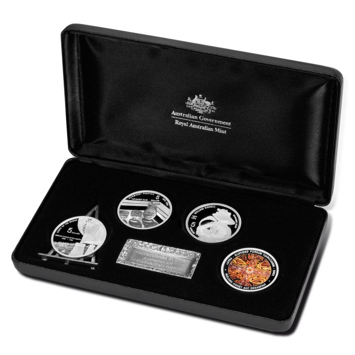 Thumbnail for 2007 Masterpieces in Silver Proof Set Art of the Twentieth Century
