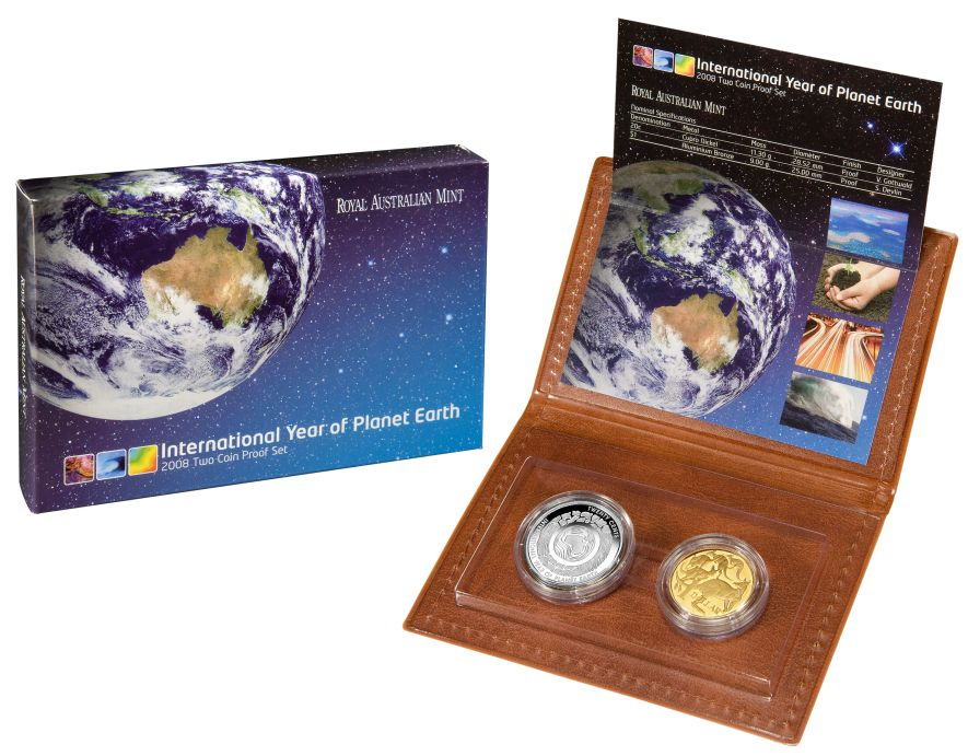 Thumbnail for 2008 Two Coin Proof Set of Coins