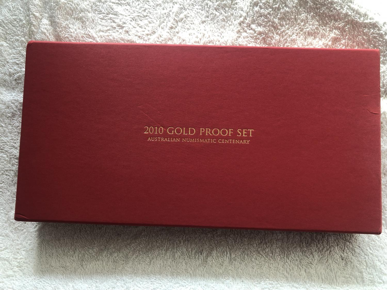 Thumbnail for 2010 Australian Gold Proof Set