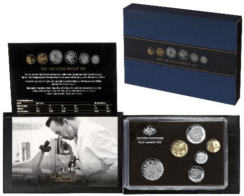 Thumbnail for 2011 Australian Six Coin Proof Set