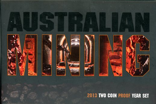 Thumbnail for 2013 Two Coin Proof Year Set - Australian Mining