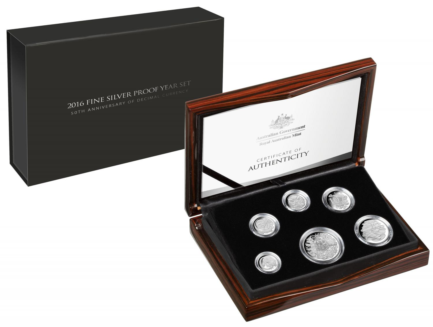 Thumbnail for 2016 Australian Fine Silver Proof Set