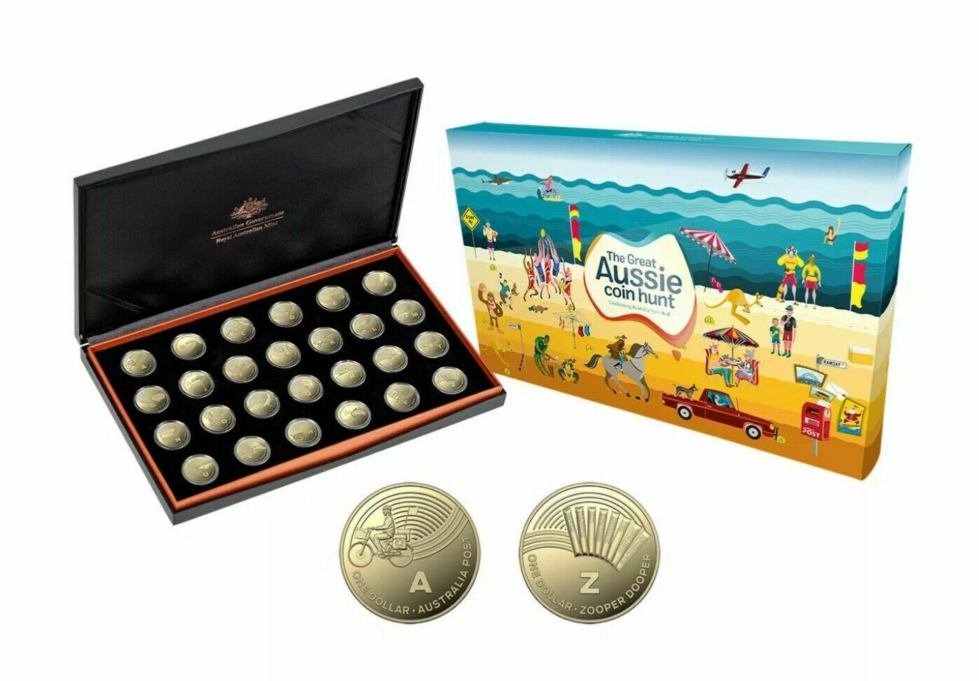 Thumbnail for 2019 Great Aussie Coin Hunt 26 Coin Proof Set A-Z