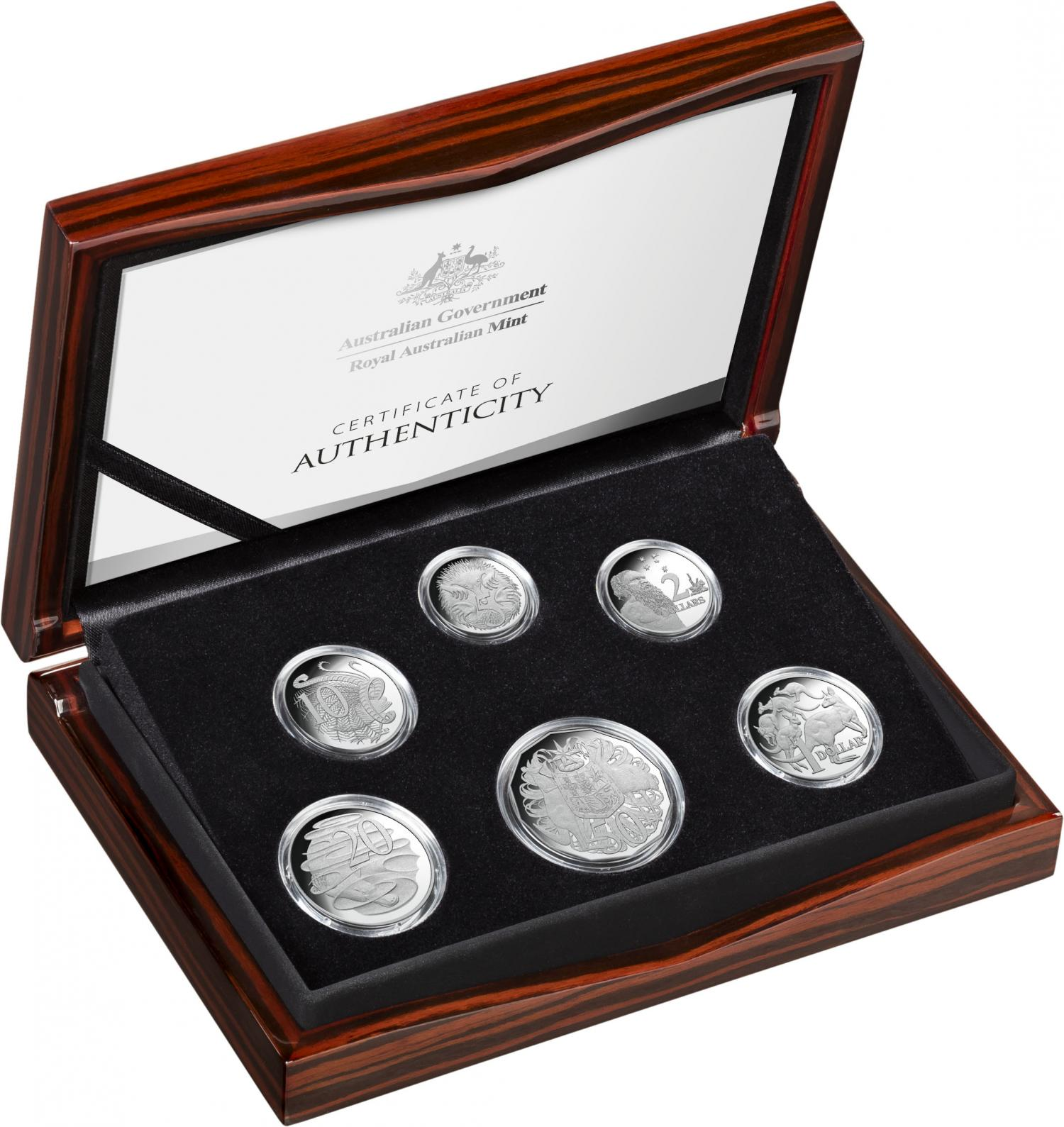 Thumbnail for 2019 Australian Fine Silver Proof Set