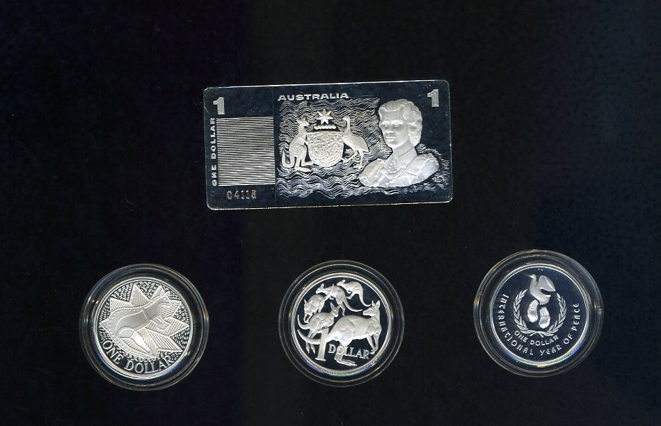 Thumbnail for 1990 Masterpieces in Silver - The Silver Dollars