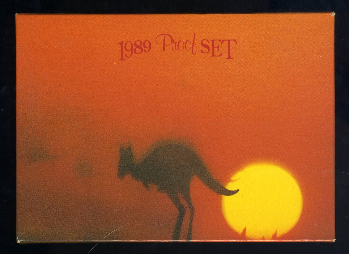 Thumbnail for 1989 Australian Proof Set Coin Fair Issue