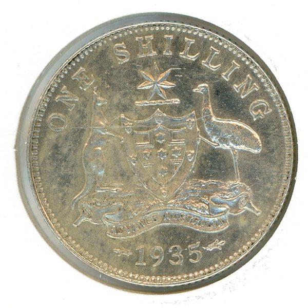 Thumbnail for 1935 Australian Shilling EF