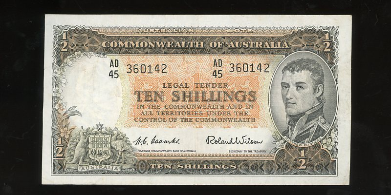 Category Image for Australian Pre-Decimal Banknotes