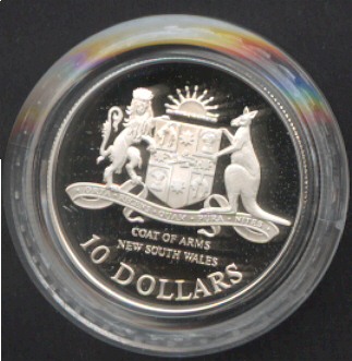 Thumbnail for 1987 State Series Proof $10 - New South Wales