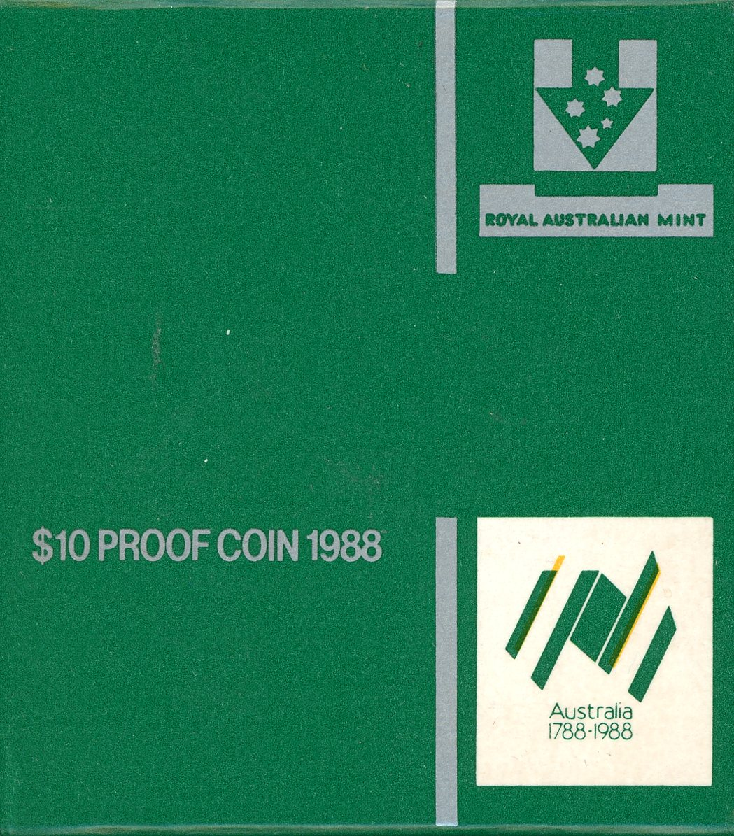 Thumbnail for 1988 $10 Silver Proof - Landing of Governor Phillip at Port Jackson
