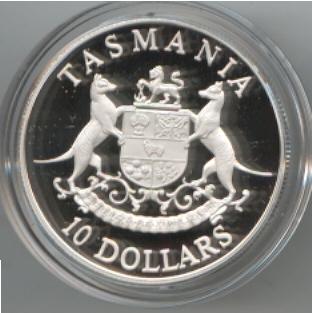 Thumbnail for 1991 State Series $10 - Tasmania