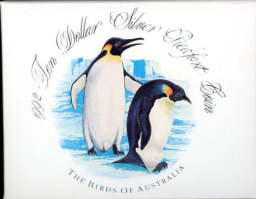 Thumbnail for 1992 Birds of Australia Piedfort $10 Proof Coin
