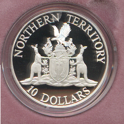 Thumbnail for 1992 State Series Proof $10 - Northern Territory