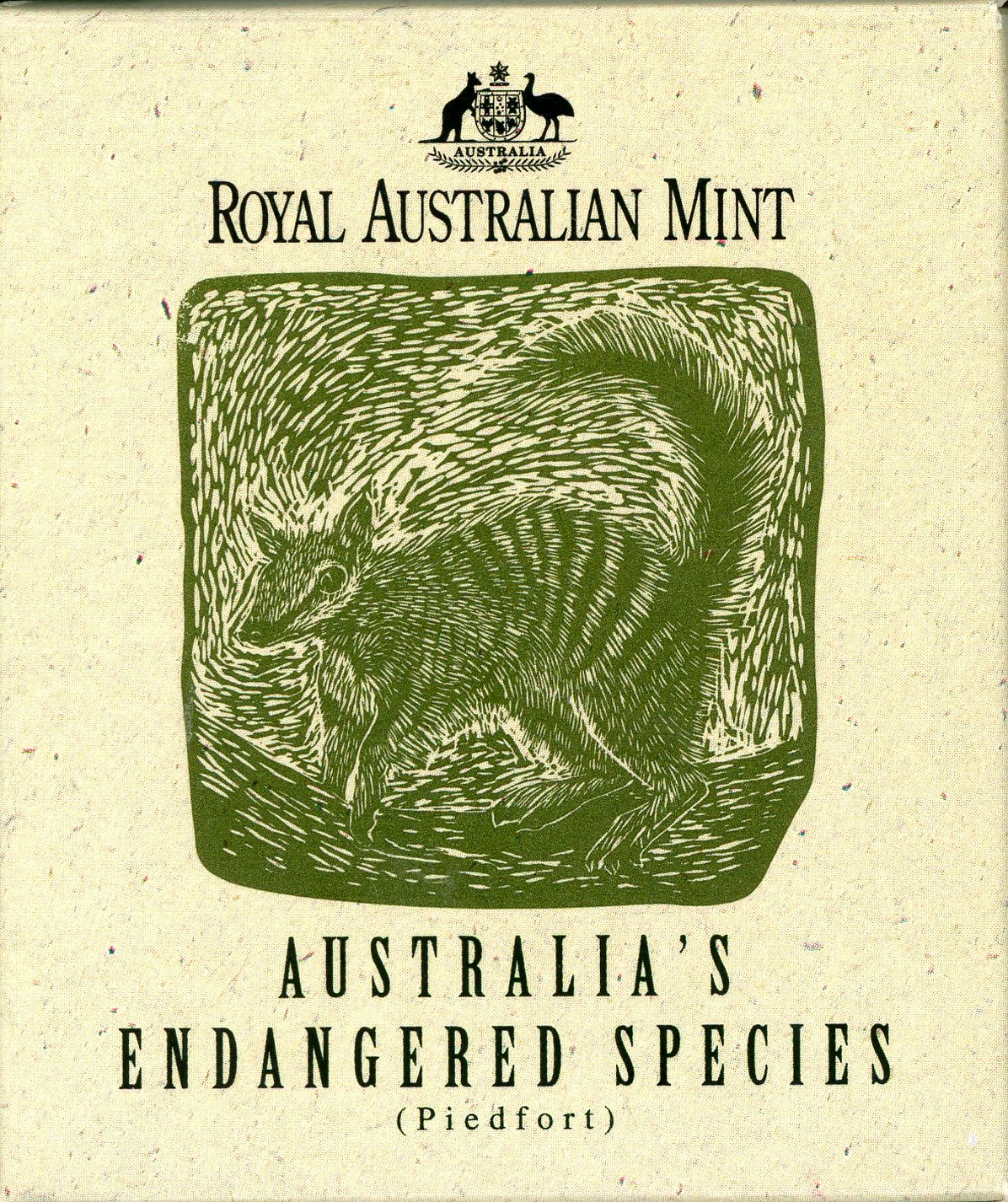 Thumbnail for 1995 $10 Silver Piedfort - Numbat