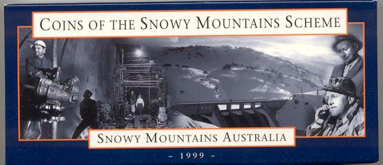 Thumbnail for 1999 Coins of the Snowy Mountains Scheme - 2 x Ten Dollar Silver Coin Set