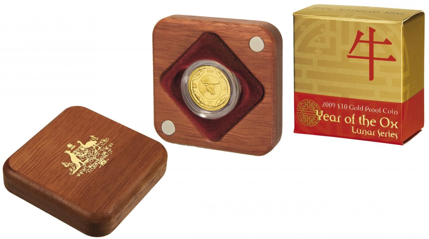 Thumbnail for 2009 Lunar Year of the Ox $10.00 Gold Proof
