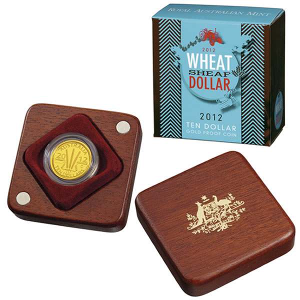 Thumbnail for 2012 Wheat Sheaf $10.00 Gold Proof