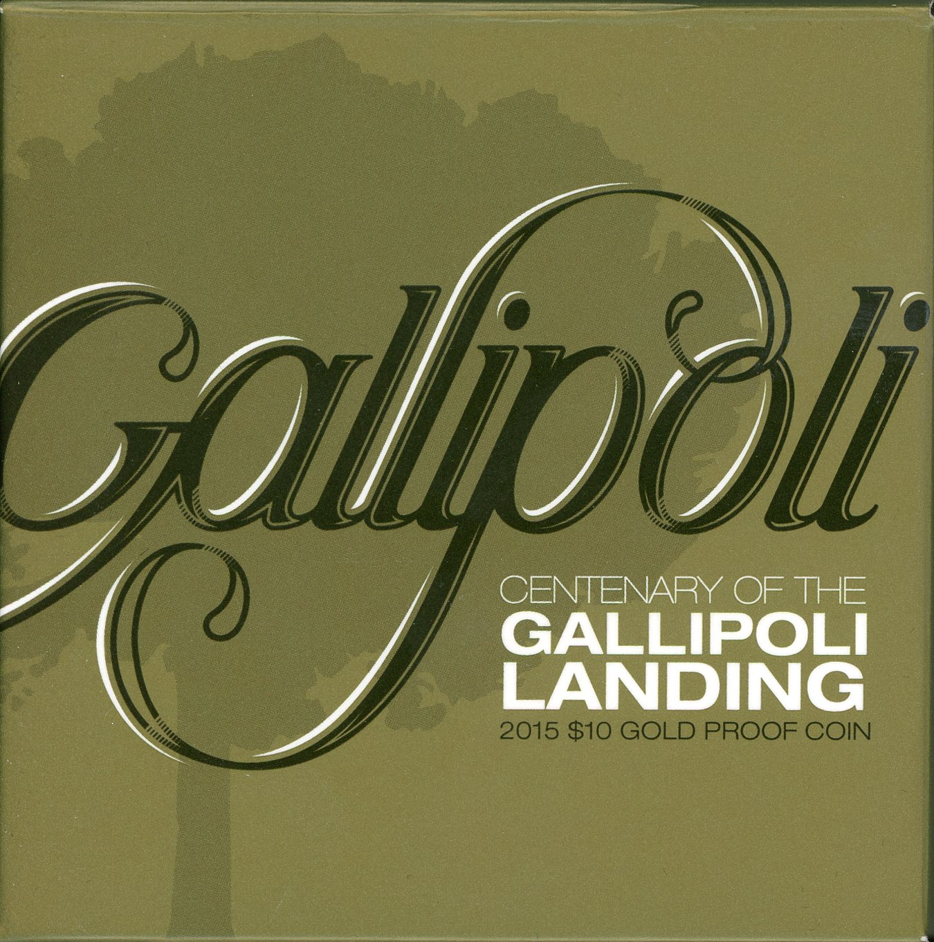 Thumbnail for 2015 $10 Gold Proof Coin - Centenary of the Gallopoli Landing