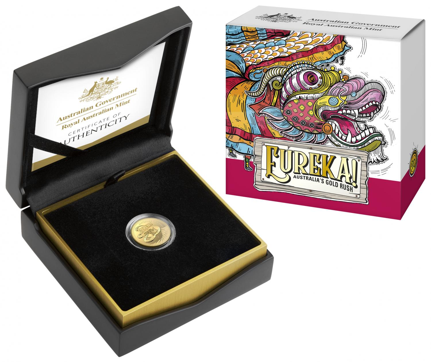 Thumbnail for 2020 Eureka $10.00 One Tenth oz Gold Proof Coin