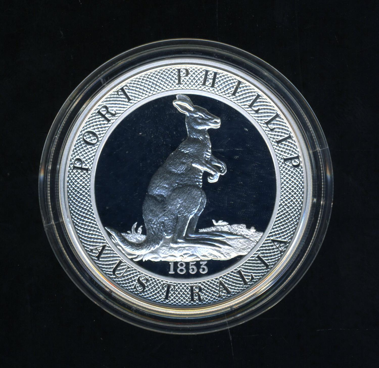Thumbnail for 2003 Australian $10 Silver Coin from Masterpieces in Silver Set .999 Silver - Port Phillip Patterns.
