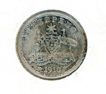 Thumbnail for 1910 Threepence aEF